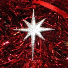 Xmas tree decoration Star XD3
